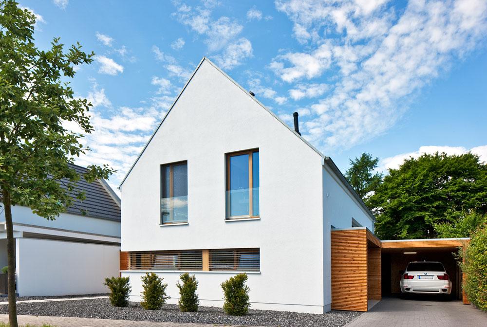 Haus immel immobilien baugrund for Haus mit satteldach modern