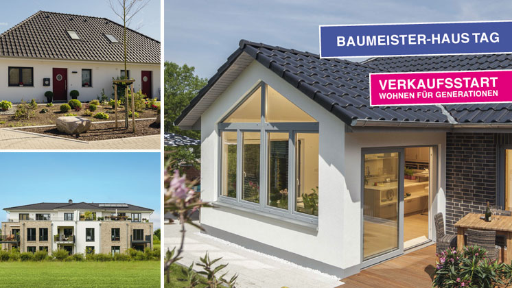 Baumeister-Haus Tag: Verkaufsstart